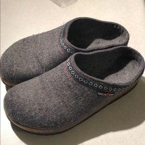 Haflinger wool clogs size 39